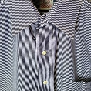 15 32 Brooks Brothers Shirt Pinstripes All Cotton